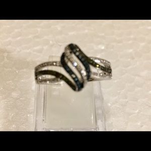 Blue,Black,White Diamonds 💍